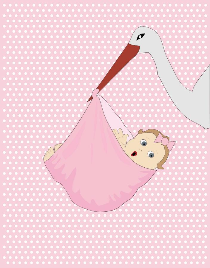 Přání k narození dítěte, obrázky ke stažení - dítě přáníčko