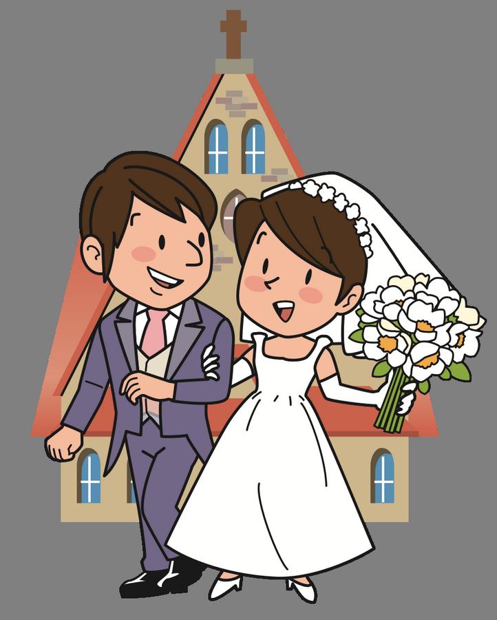 Přání k svatbě, obrázková blahopřání - Blahopřání k svatbě